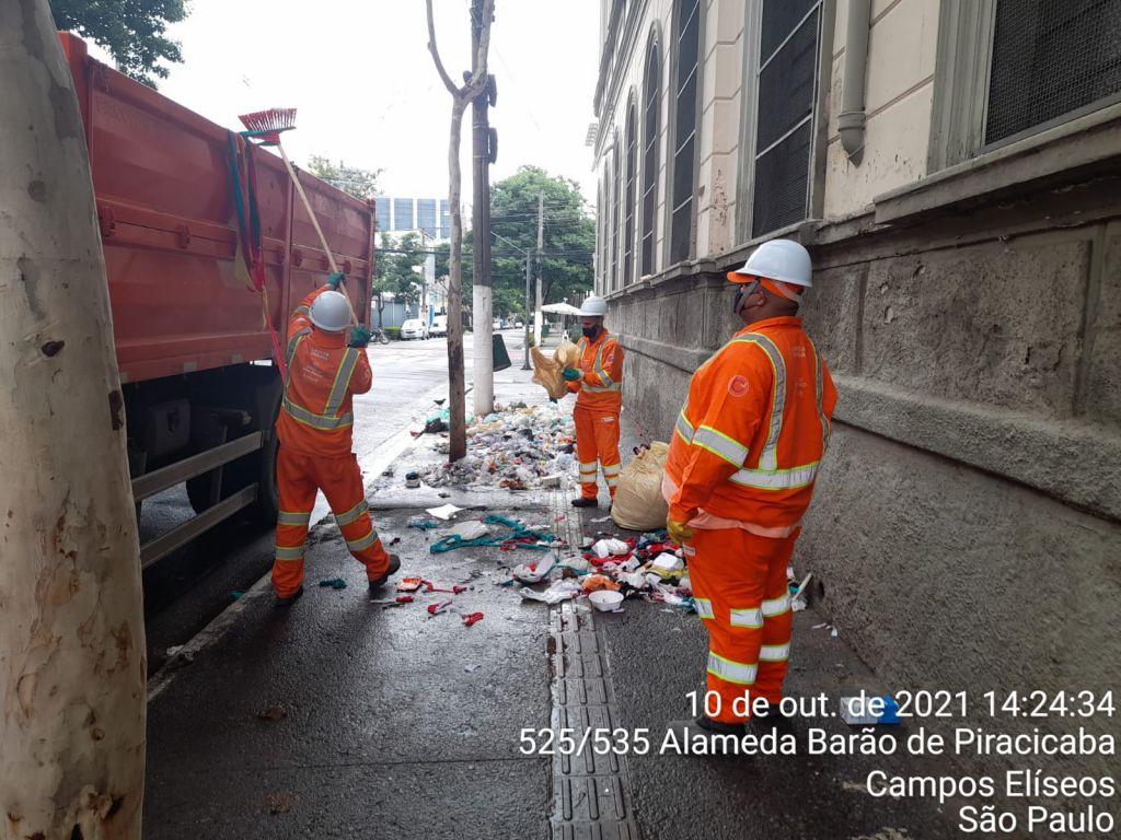 Limpeza Alameda Barao Ajudaspcentro